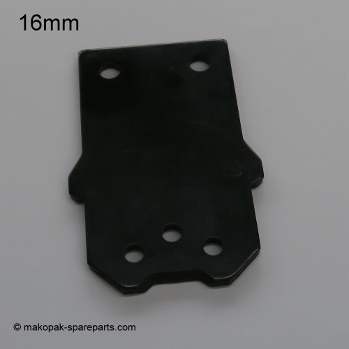 Front plate 16 mm