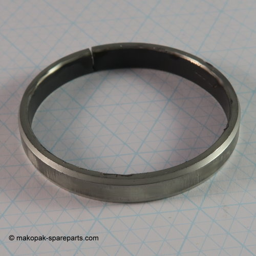 Slide bearing bushing
