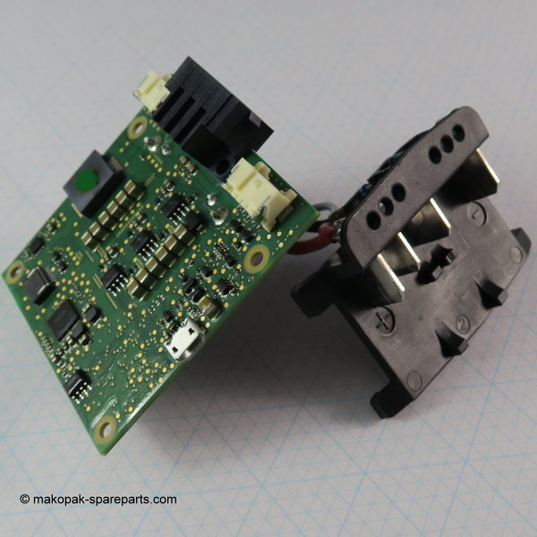 Printed circuit board soldered