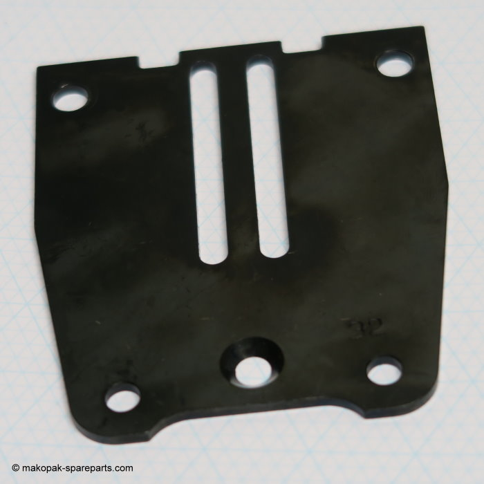"Side plate, 32 mm (1 1/4"")"