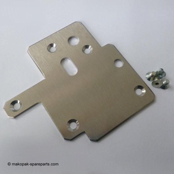 Option: protection plate-set